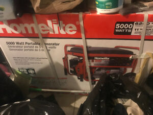 Brand new portable generator