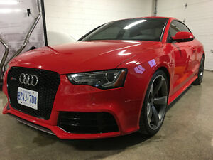 2013 Audi RS5 low KM, no accidents, Canadian Car