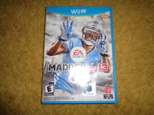 Madden 13 for Wii U - $15 - Can deliver