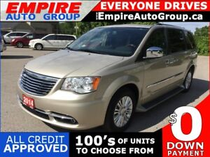 2014 CHRYSLER TOWN & COUNTRY LIMITED * 1 OWNER * LEATHER * NAV *