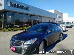 2014 Buick Regal GS  RARE! Low Mileage, Loaded!