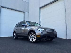 BMW X3 Xdrive 2010, très bas KM, jamais accidenté, garanti 1 an!