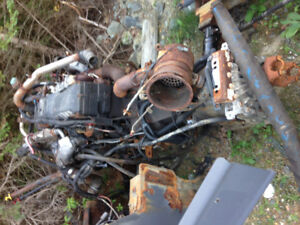 Engine DT466E for sale as a core
