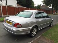 JAGUAR X-TYPE V6 AUTO LONG MOT DRIVES PERFECT