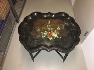 Toile Tray coffee table