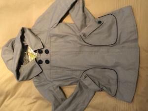 Grey Soia Kyo spring jacket. Lined. Size 6.