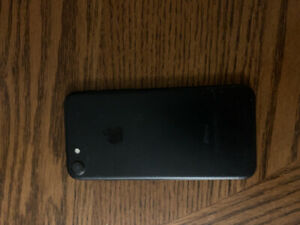 IPHONE 7 - BLACK - excellent condition
