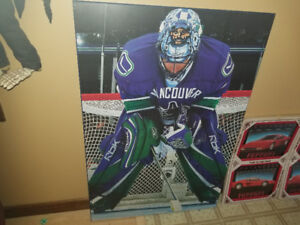 Vancouver Canucks HUGE wooden plaque only $10 text 2264489639