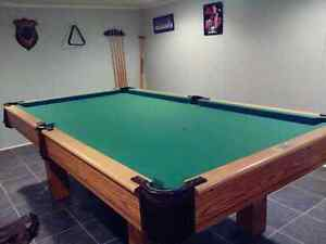 Duffern slate pool table 6 by five. For sale