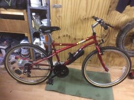 Unisex mountain bike small/medium