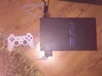 Ps2 with games and memory card