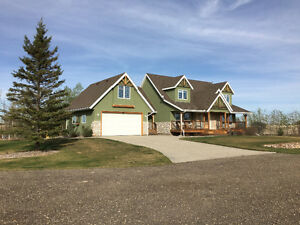 Grain Farm With Outstanding House and Shop East of Camrose