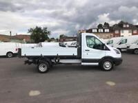 Ford Transit 2.0 Tdci 130Ps S/CAB TIPPER DIESEL MANUAL WHITE (2017)