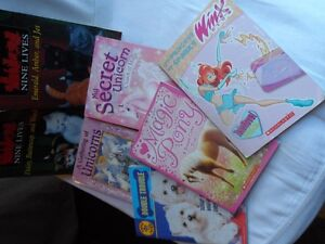 Variety of Seven Scholastic Books
