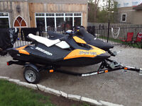 x2 Seadoo Sparks with Trailer