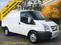 2011/ 11 Ford Transit 115ps T330S Econetic [ Mobile Workshop ] Low Roof van