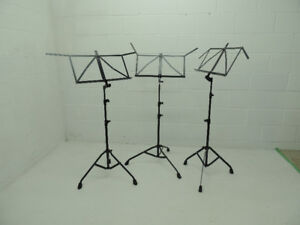 Manhasset and K&M music stands.