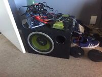 Fusion subwoofer and amp