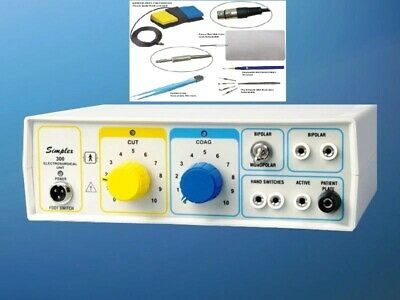Electro Surgical Generator Model Simplex - 300 Monopolar Bipolar Unit Cautery F