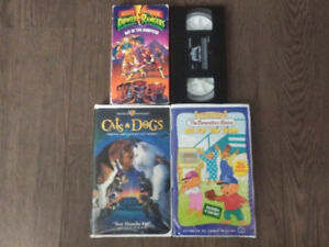 4 VHS For Sale