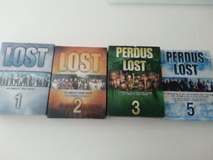 LOST Season 1,2,3 and 5