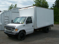 Ford E350 CUBE 1999 DIESEL IMPECC. INSPECTION FAITE PRÊT A TRAVA