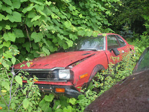 1982 Honda Prelude Coupe for Parts Only