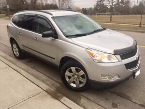 2010 Chevrolet Traverse Safety&E-test,New engine SUV, Crossover