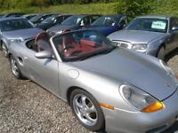 1998 PORSCHE BOXSTER 986 2.5 automatic convertible