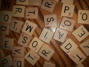 Wanted: Wooden Scrabble Tiles & Wooden Dominoes