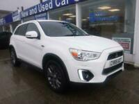 2015 65 MITSUBISHI ASX 1.6 ZC-M 5 DOOR 115 BHP WHITE MANUAL PETROL HATCHBACK