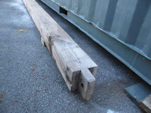 MORTISE AND TENON BARN BEAM