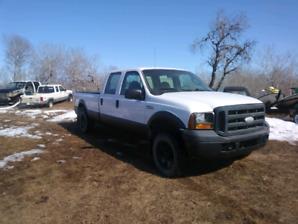 2007 Ford F250 crew cab 4x4 gas