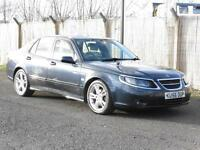 Saab 9-5 2.3 HOT 2006 Aero, FSH, Saloon, Blue, 6 Months AA Warranty