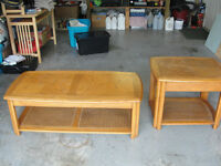 **COFFEE AND END TABLE**