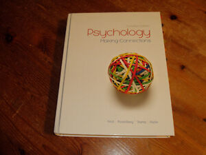 PSYCHOLOGY MAKING CONNECTIONS PSYC 260 - 261 RDC TEXTBOOK