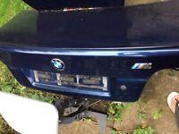 BMW boot blue E39 5 series