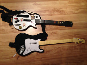 GUITARE SEULEMENT WII GUITAR ROCK BAND