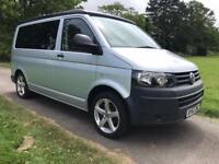 2012 Volkswagen T5 Transporter Camper TDI P/V Silver Van