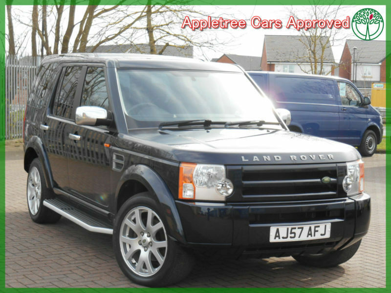 Land Rover Discovery Best 7 Seater Cars: 2007 (57) Land Rover Discovery 3 2.7 TDV6 GS 7 Seater