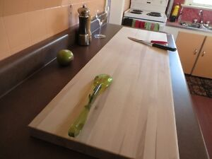 CHEF'S maple cutting board serving (huge version)