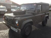 1997 P LAND ROVER DEFENDER 90 2.5 NA HARDTOP EX MILITARY MOD LOW MILES