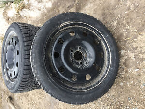 "17"" LOW PROFILE NEW Winter Tires + Rims Stratford Kitchener Area image 3"