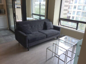 UNFURNISHED (Avail June 2), 1 bdrm + 2 dens in Downtown