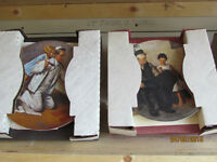 Collectible NORMAN ROCKWELL Plates
