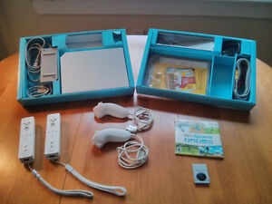 Wii Console with 2 Controllers & Wii Sports