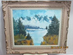 Oil Painting - Blue Mountains