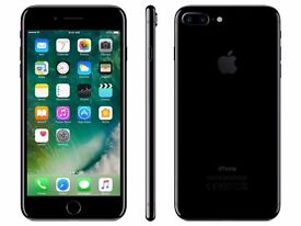 256GB JET BLACK IPHONE 7 PLUS UNOPENED CELLOPHANE UNTOUCHED SEAL INTACT