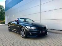 2015 15 BMW 420d M Sport Convertible + Black/ RED Leather + M Performance Kit