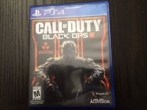 Call of Duty Black Ops 3, comme neuf. Pour PS4.